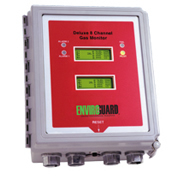 EnviroGuard Deluxe Eight Channel Hydrogen Gas Monitor