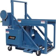 BHS Battery Transfer Carriage - Manual Extraction & Powered Lift