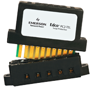 Emerson Edco PC2-Tel Two Line Telephone Surge Protection, modular