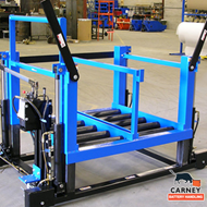 Carney Battery Manual Change Cart