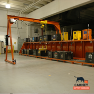 Carney Battery Gantry Crane