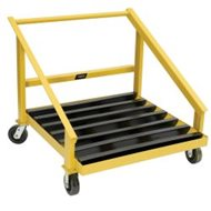 BHS Hardwood Battery Transfer Cart (HTC)