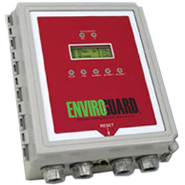EnviroGuard Deluxe Two Channel Hydrogen Gas Monitor