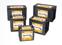 GNB Relay Gel Bloc Batteries