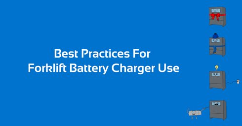 Best Practices For Forklift Battery Charger Use